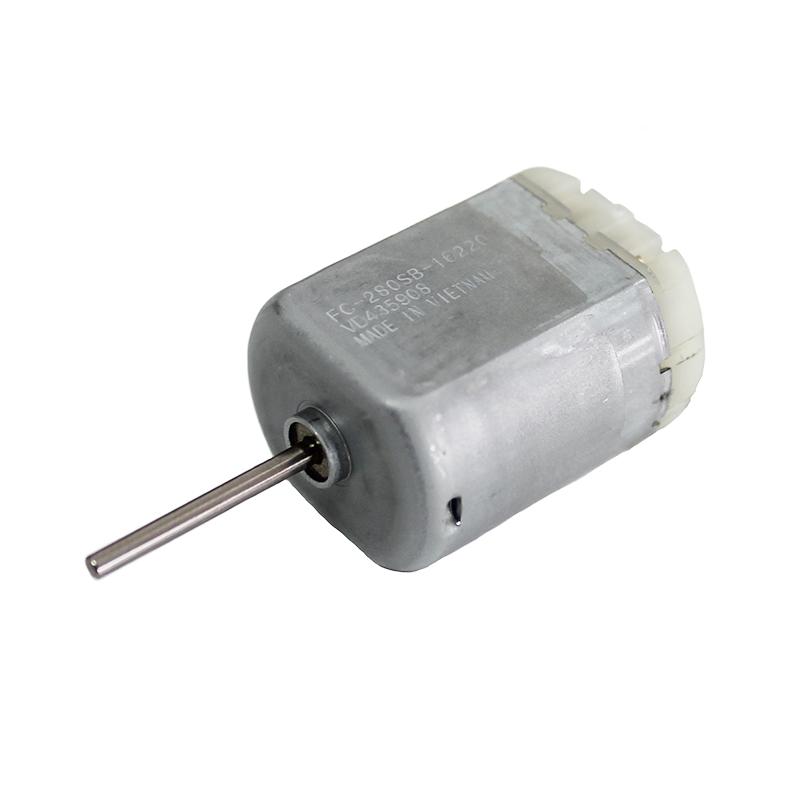 Motor Corriente DC, Voltaje 9.00V, R.P.M. 5850.00rpm - FC-280SB-16220