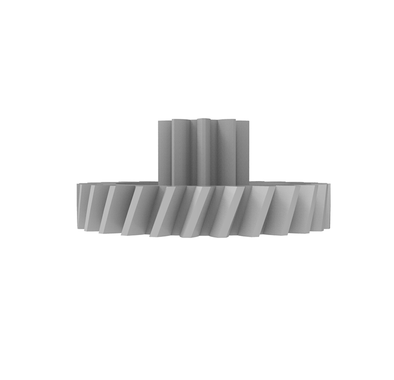Engranaje de plástico Módulo 0.500, Dientes 27Z, Forma con piñon