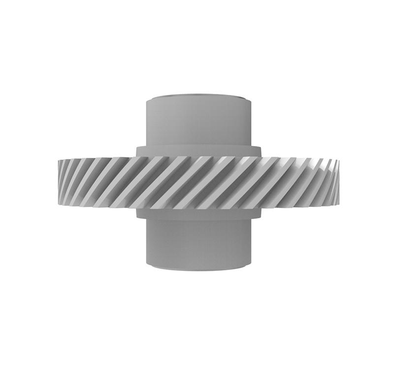 Engranaje de plástico Módulo 0.800, Dientes 45Z, Forma helicoidal