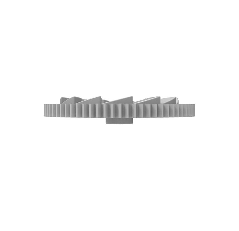 Engranaje de plástico Módulo 0.500, Dientes 74Z, Forma recto