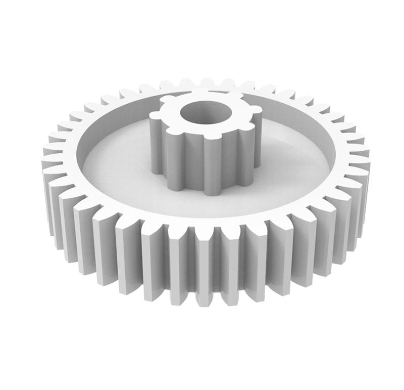 Engranaje de plástico Módulo 0.600, Dientes 40Z, Forma recto