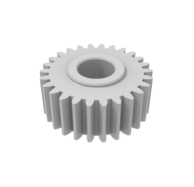 Engranaje de plástico Módulo 0.550, Dientes 26Z, Forma recto