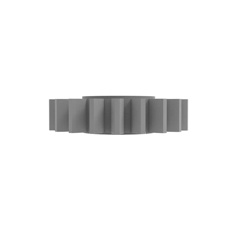 Engranaje de plástico Módulo 0.500, Dientes 20Z, Forma recto