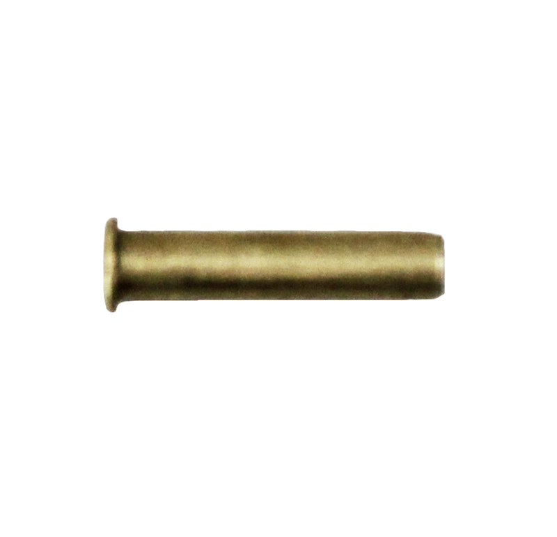 Remache tubular Diametro 3.00mm, Longitud 14.50mm, Material Latón (Pack de 30)