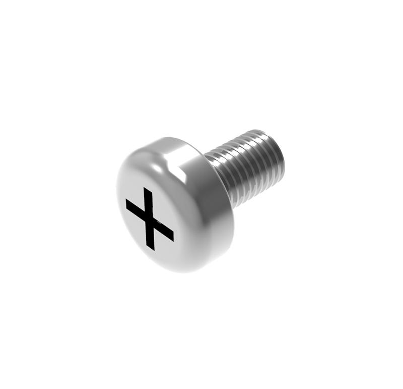 Tornillo Diámetro 2.90mm, Longitud 5.00mm, Tipo métrica  Se venden en lotes indivisibles de 30 unidades