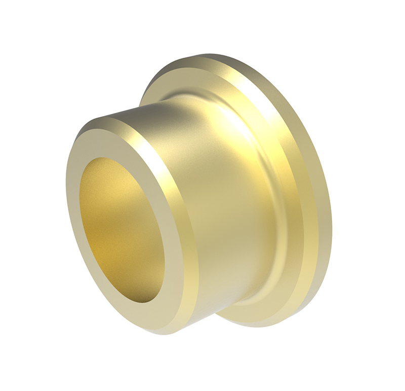 Casquillo Diametro interior 8.00 mm, Longitud 8.00mm, Material bronce