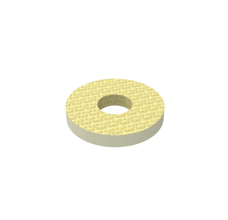 Arandela Diametro interior 2.5 mm, Espesor 1,00mm, Tipo de goma   Se venden en lotes indivisibles de 30 unidades