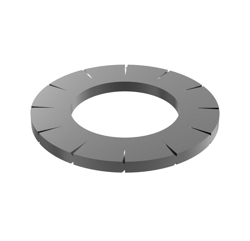 Arandela Diametro interior 6.40mm, Espesor 0.7mm, Tipo abanico (Pack de 30)