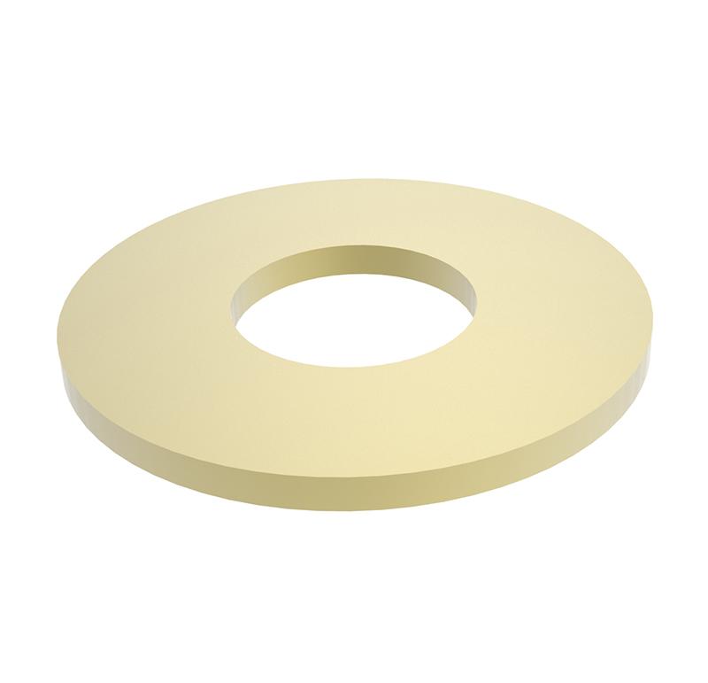 Arandela Diametro interior 2,10 mm, Espesor 0,30mm, Tipo normal  Se venden en lotes indivisibles de 30 unidades