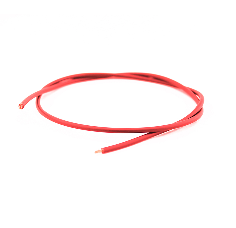 Cable rojo, Diametro 2.8mm., Longitud 275 mm.