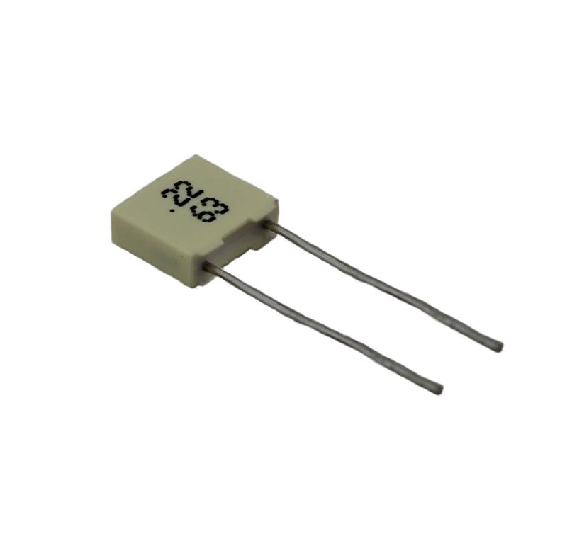 Condensador de pélicula; 100nF / 100V
