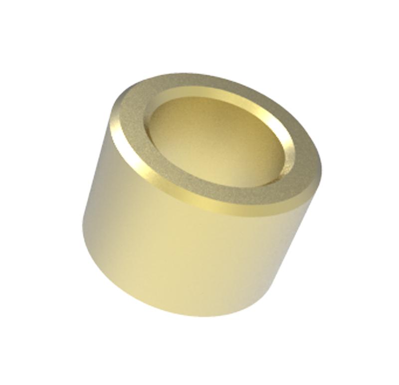 Casquillo Diametro interior 9.00mm, Longitud 10.00mm, Material Bronce sinterizado