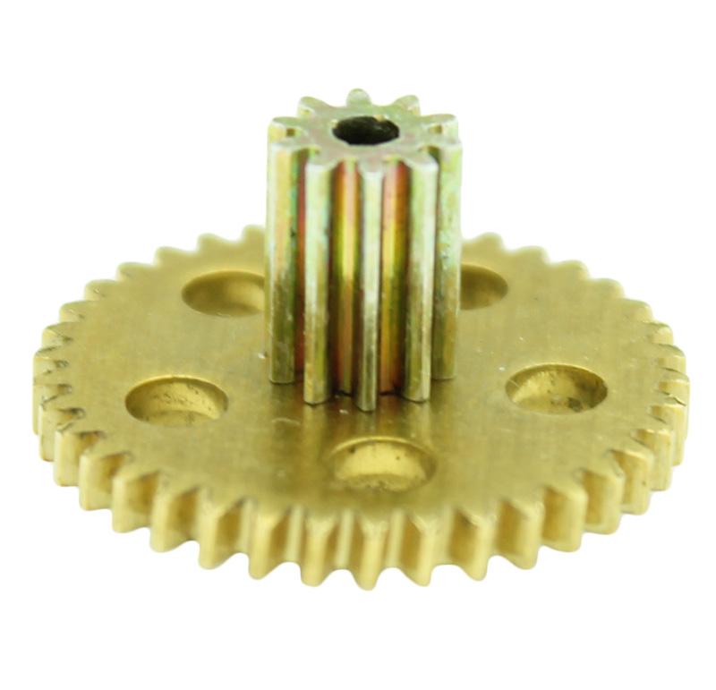 Conjunto Sinfín Corona Módulo 0.500, Numero entradas 1.00, Diametro exterior 5.75mm