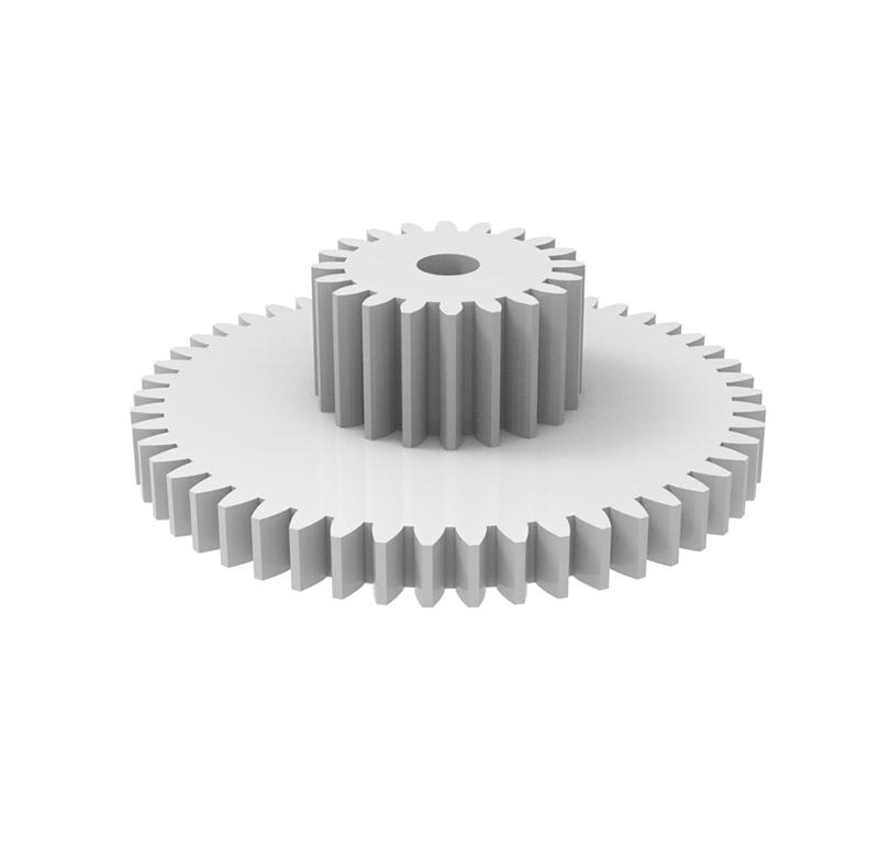module 1.0 Plastic spur gears of 12Z to 140Z