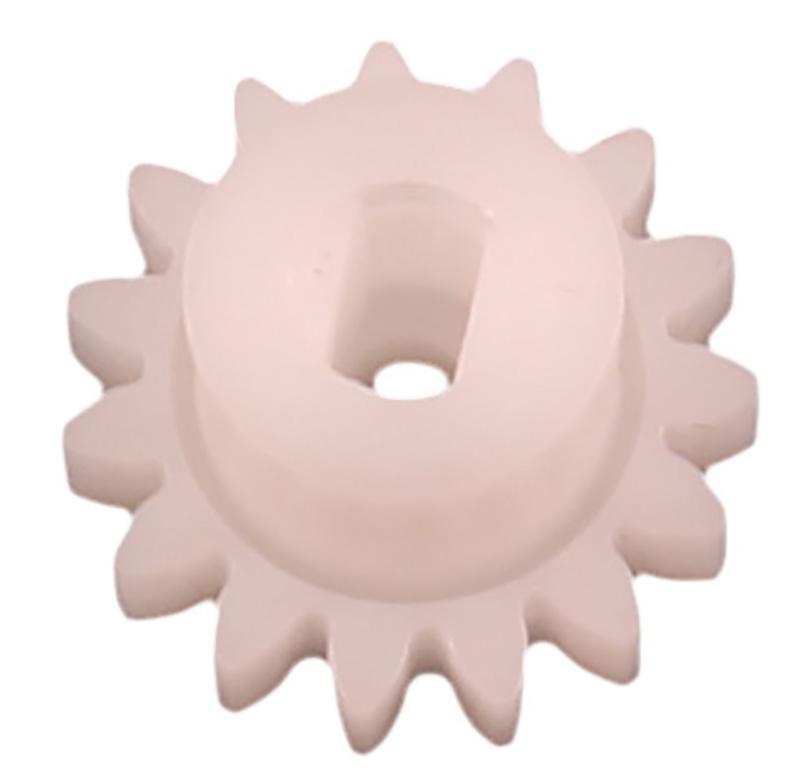 Engranaje de plástico Módulo 0.750, Dientes 15Z, Forma con bulon