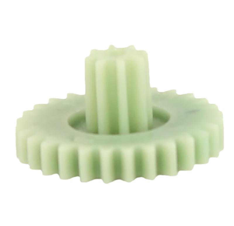 Engranaje de plástico Módulo 0.500, Dientes 28Z, Forma con piñon