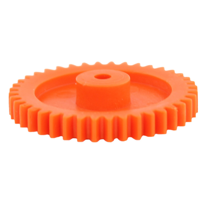 Engranaje de plástico Módulo 0.750, Dientes 40Z, Forma con bulon