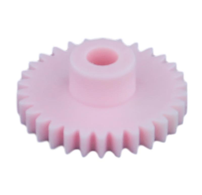 Engranaje de plástico Módulo 0.500, Dientes 30Z, Forma con bulon