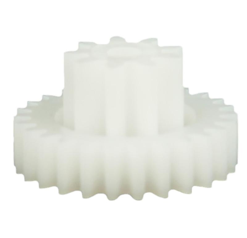 Engranaje de plástico Módulo 0.750, Dientes 26Z, Forma con piñon