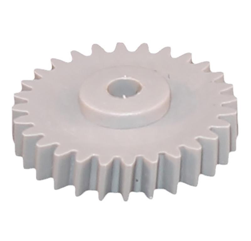 Engranaje de plástico Módulo 0.500, Dientes 28Z, Forma helicoidal