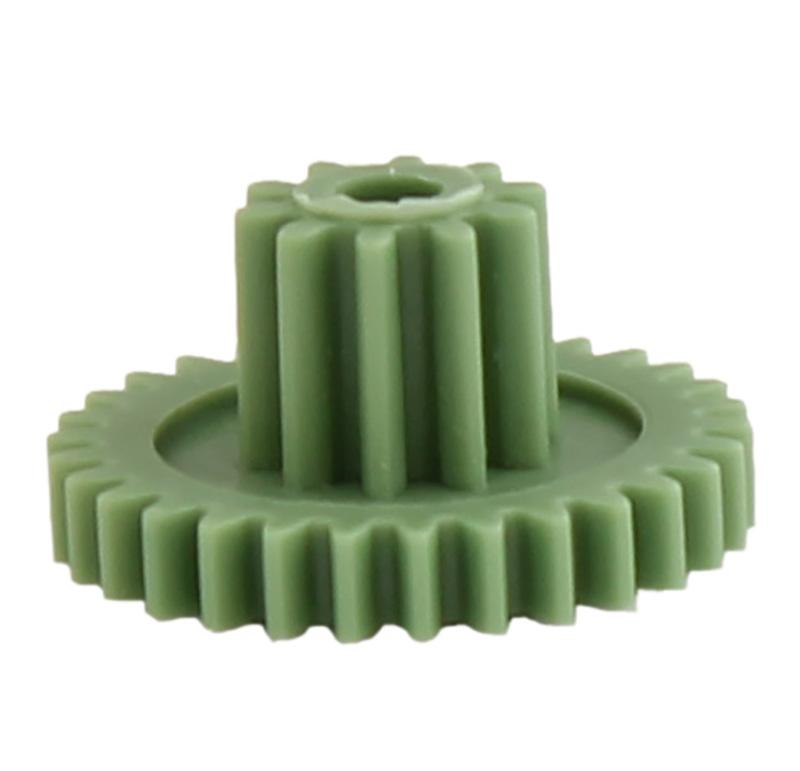 Engranaje de plástico Módulo 0.500, Dientes 30Z, Forma con piñon