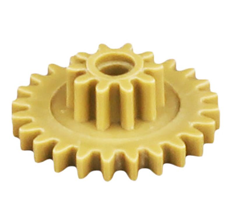 Engranaje de plástico Módulo 0.500, Dientes 24Z, Forma con piñon