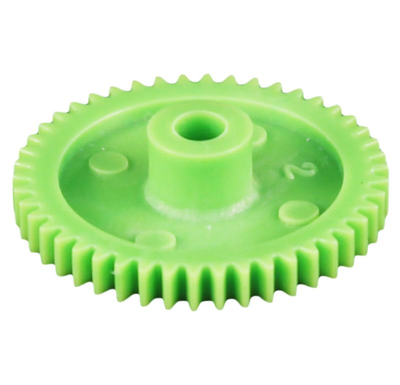 Engranaje de plástico Módulo 0.600, Dientes 46Z, Forma con bulon