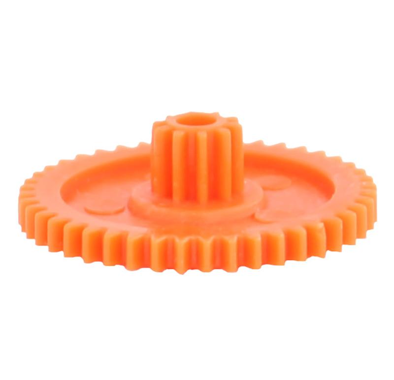 Engranaje de plástico Módulo 0.500, Dientes 44Z, Forma con piñon