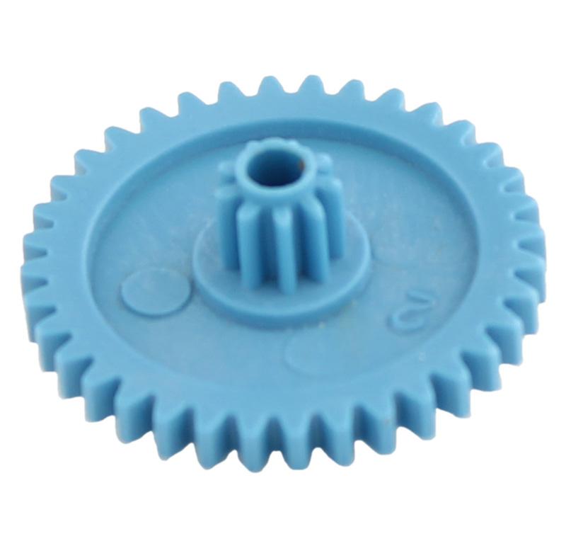 Engranaje de plástico Módulo 0.600, Dientes 36Z, Forma con piñon