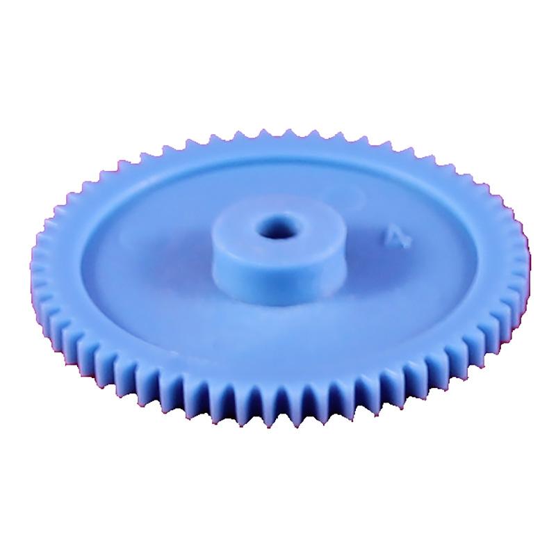 Engranaje de plástico Módulo 0.500, Dientes 58Z, Forma con bulon