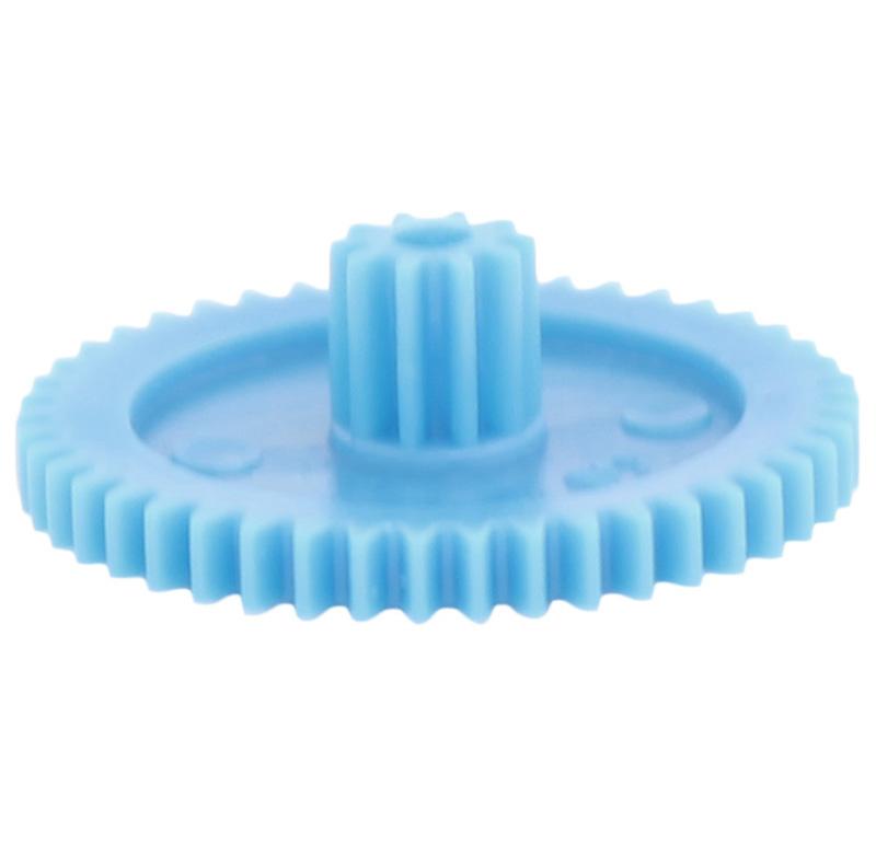 Engranaje de plástico Módulo 0.500, Dientes 46Z, Forma con piñon