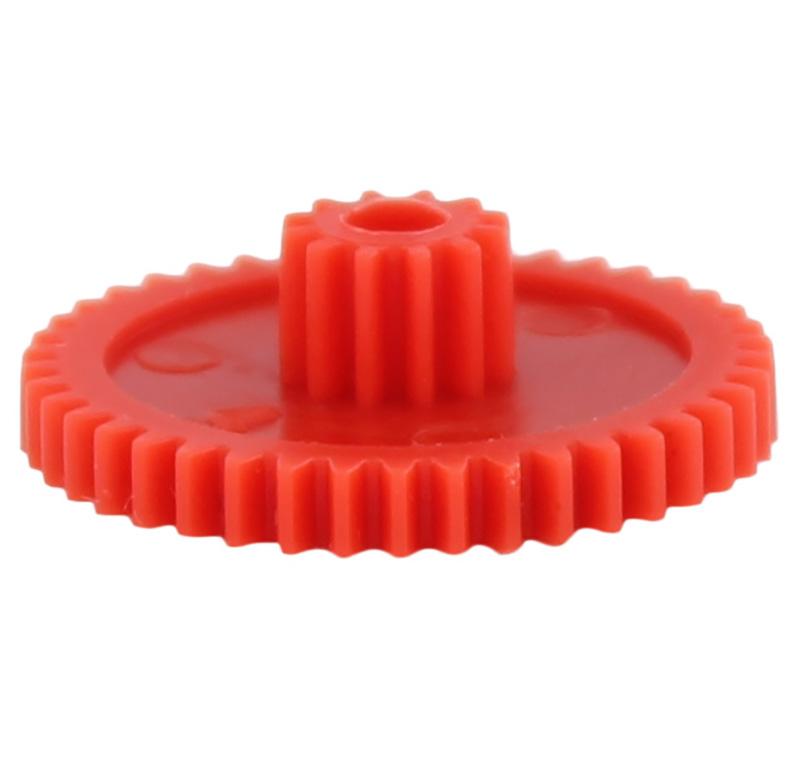 Engranaje de plástico Módulo 0.500, Dientes 42Z, Forma con piñon