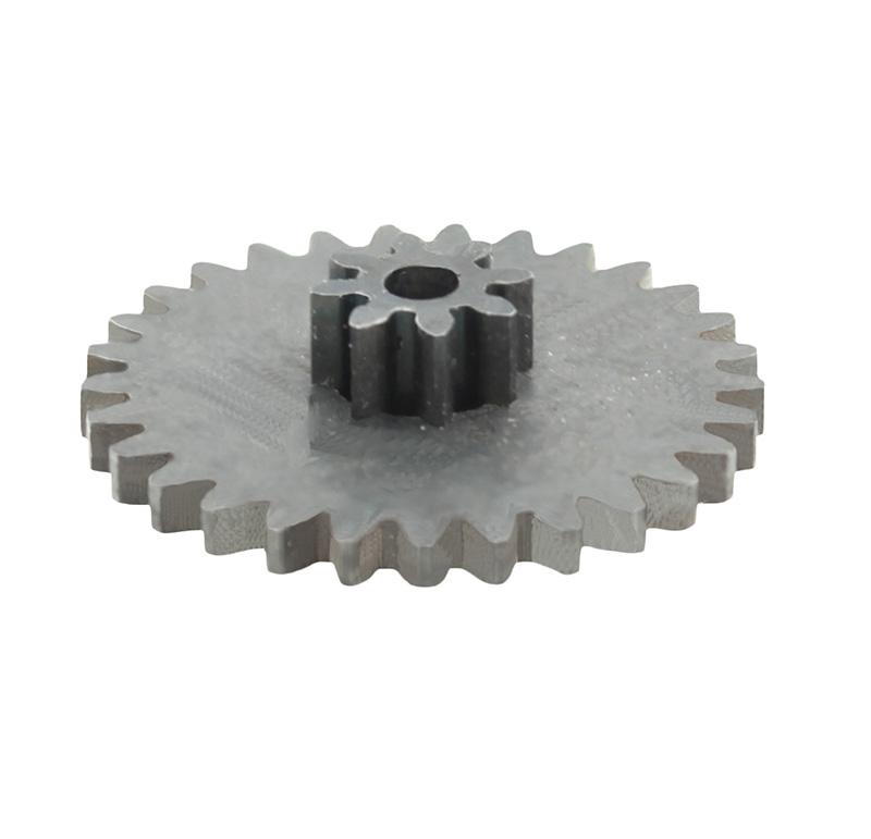 Engranaje de metal Módulo 0.750, Dientes 29Z, Forma con piñon