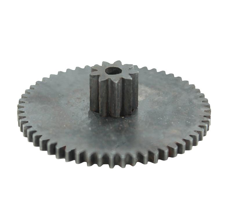 Engranaje de metal Módulo 0.500, Dientes 56Z, Forma con piñon