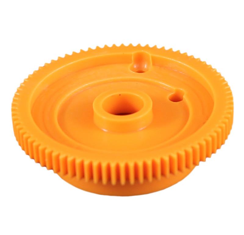 Engranaje de plástico Módulo 0.500, Dientes 78Z, Forma con bulon