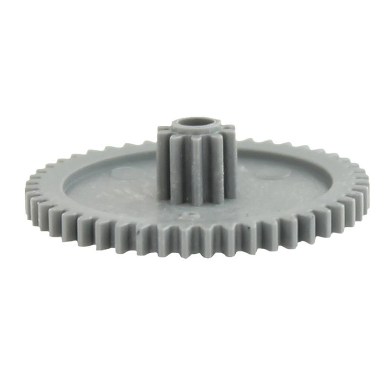 Engranaje de plástico Módulo 0.600, Dientes 48Z, Forma con piñon