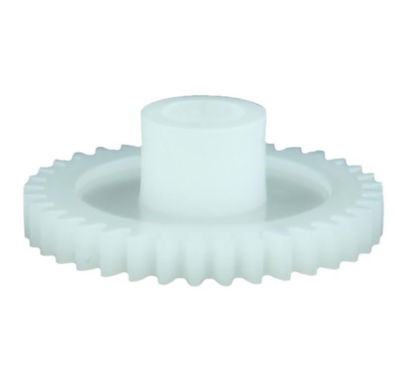 Engranaje de plástico Módulo 0.600, Dientes 36Z, Forma con bulon
