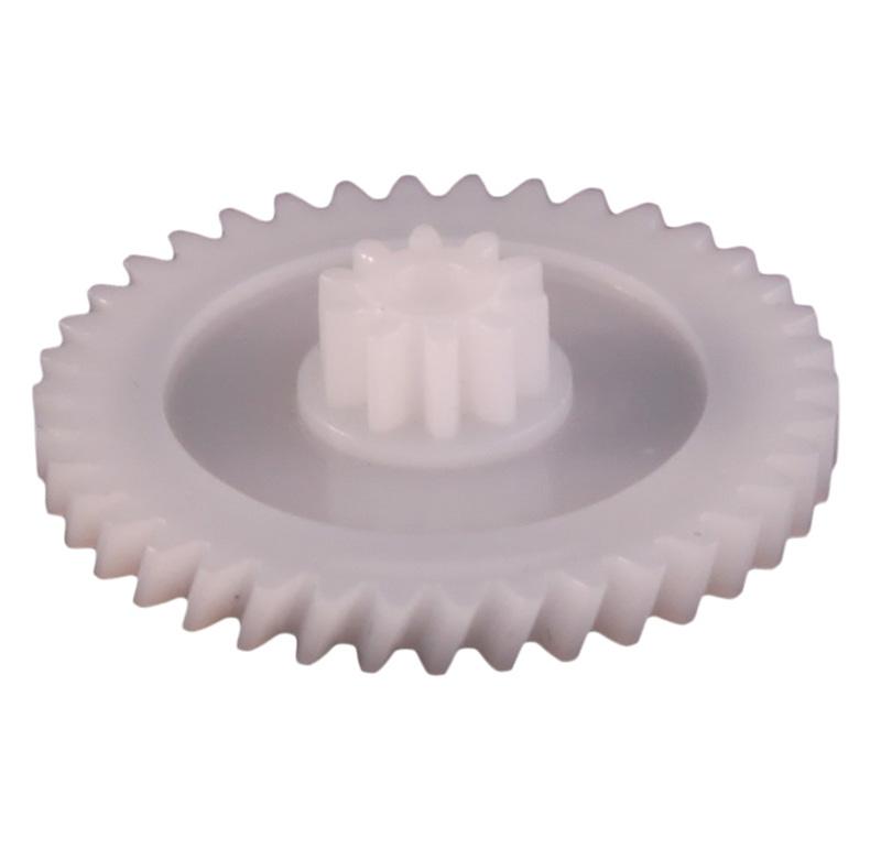 Engranaje de plástico Módulo 0.700, Dientes 38Z, Forma helicoidal