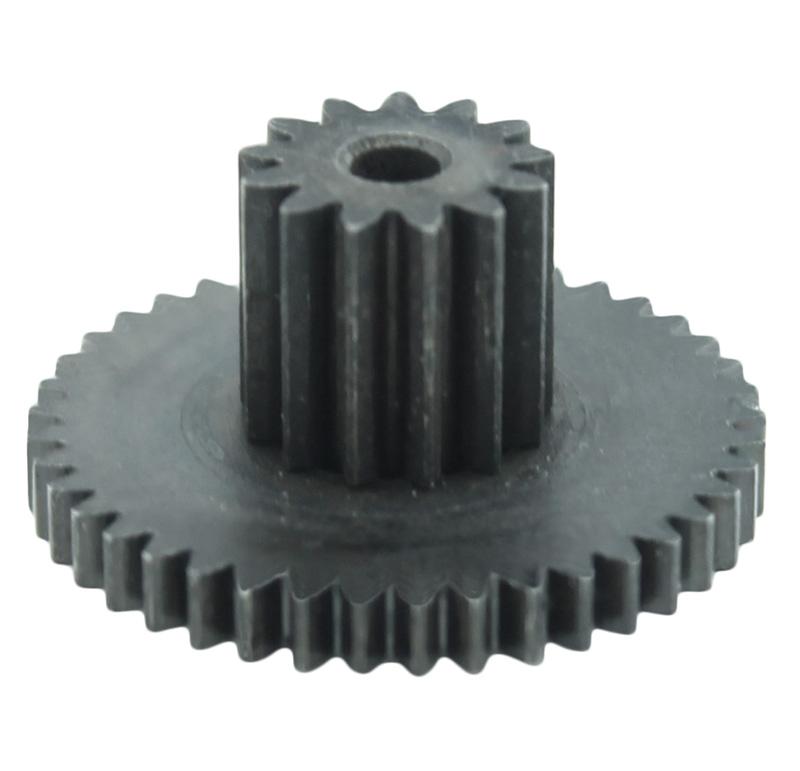 Engranaje de metal Módulo 0.500, Dientes 41Z, Forma con piñon