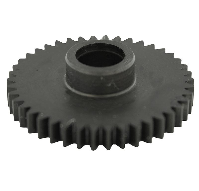 Engranaje de metal Módulo 0.750, Dientes 42Z, Forma con bulon