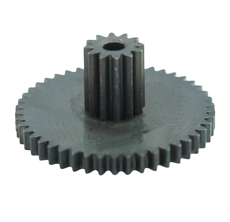 Engranaje de metal Módulo 0.500, Dientes 46Z, Forma con piñon