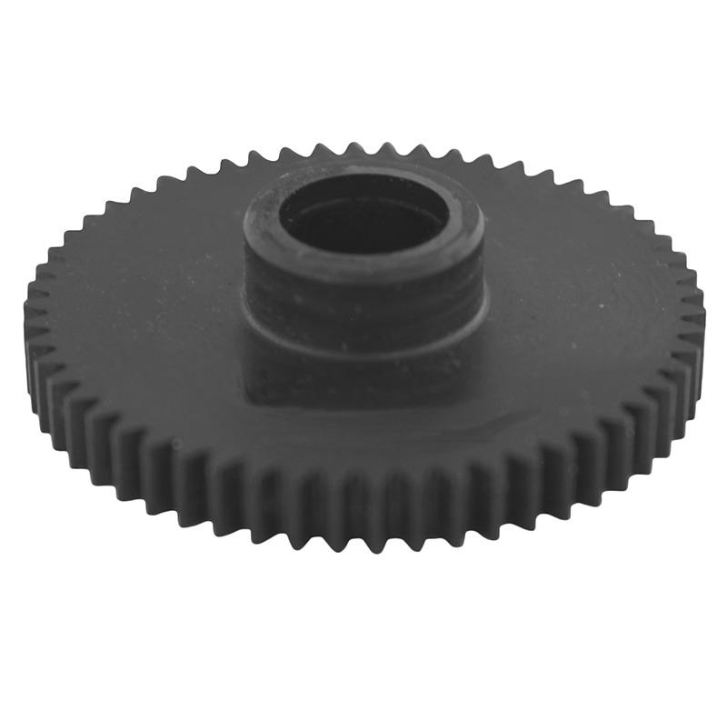 Engranaje de metal Módulo 0.600, Dientes 56Z, Forma con bulon
