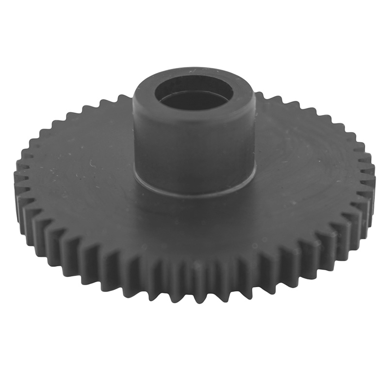 Engranaje de metal Módulo 0.800, Dientes 49Z, Forma con bulon