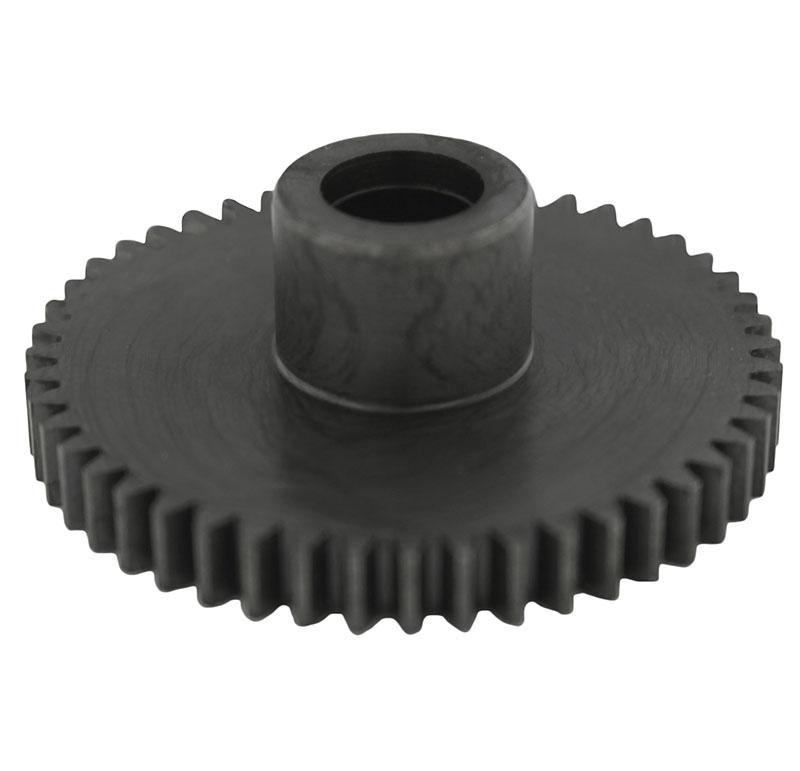 Engranaje de metal Módulo 0.800, Dientes 48Z, Forma con bulon