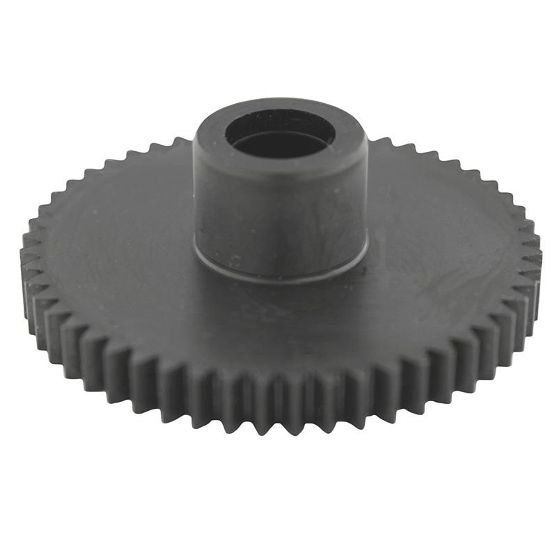 Engranaje de metal Módulo 0.750, Dientes 53Z, Forma con bulon