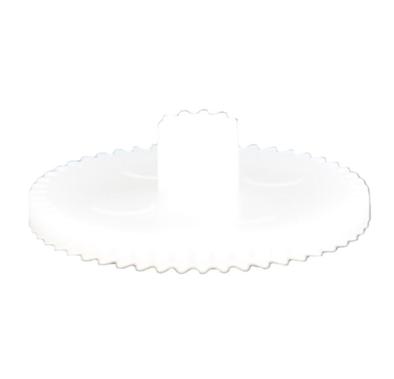 Engranaje de plástico Módulo 0.400, Dientes 50Z, Forma con piñon