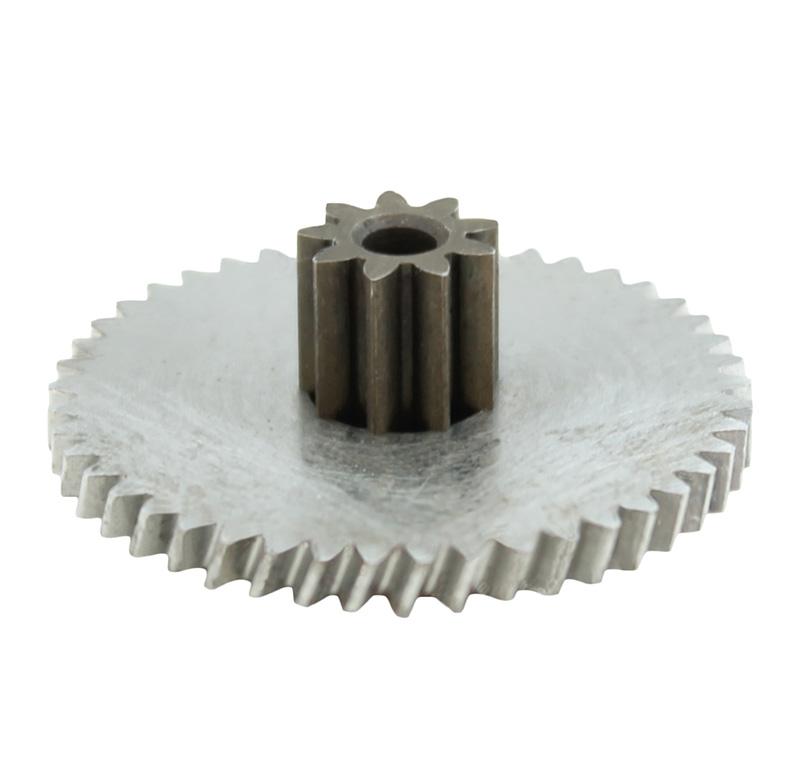 Engranaje de metal Módulo 0.500, Dientes 45Z, Forma con piñon, Ángulo β: 20º