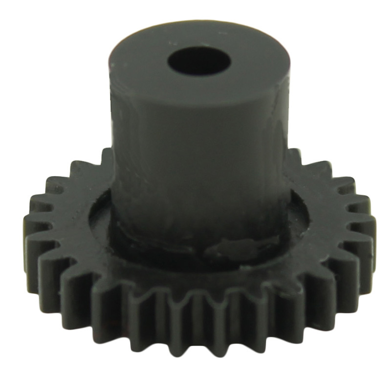 Engranaje de plástico Módulo 0.500, Dientes 26Z, Forma con bulon