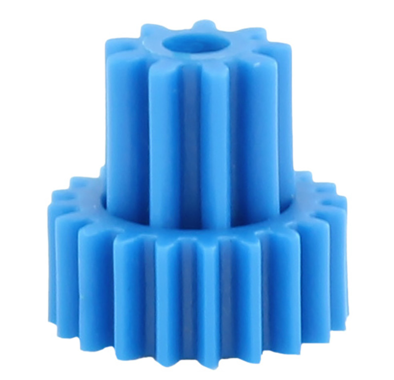 Engranaje de plástico Módulo 0.600, Dientes 20Z, Forma con piñon