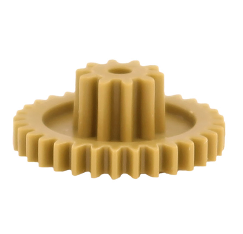 Engranaje de plástico Módulo 0.500, Dientes 32Z, Forma con piñon